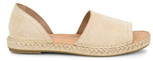 Born Seak Peep-Toe Sandal-Natural