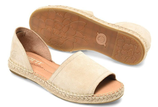 Born Seak peep-toe espadrilles sets your style apart from the rest. Shop Bennetts Clothing for a large selection of womens sandals with same day shipping