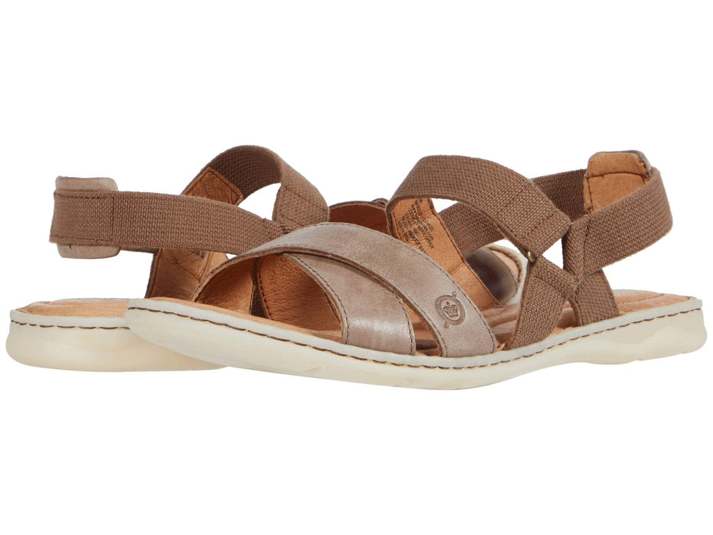 Born Springs criss cross leather strap sandals have all day comfort with style that sets you apart from the rest. Shop Bennetts Clothing for a large selection of womens sandals with same day shipping