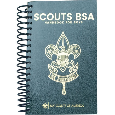 Boy Scouts of America Handbook is coil-bound, making it easy to use and reference. Get your Scouting needs from Bennett's, a authorized Scout dealer for over 40 years.
