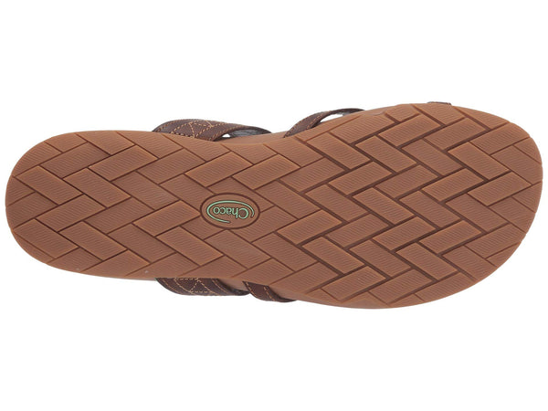 Chaco Deja Leather Sandal-Cognac
