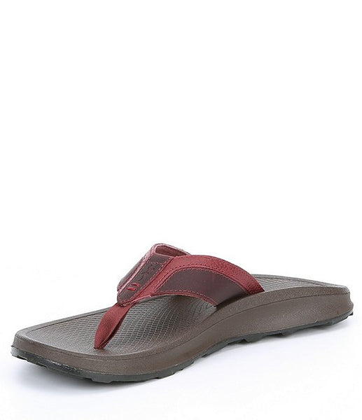 Chaco Playa Pro Leather Flip Flops-Spice