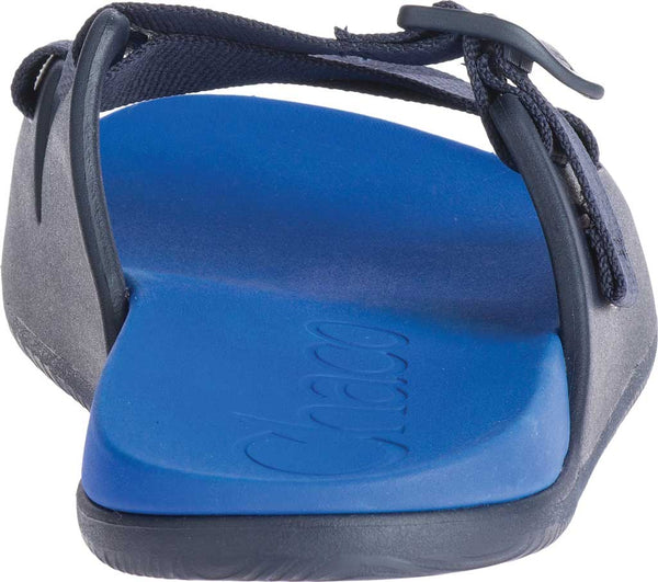 Chaco Chillos Slide Sandal-Active Blue