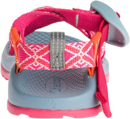 Chaco Z1 Ecotread Sandal (Toddler/Little Kid/Big Kid)-Boho Rasberry