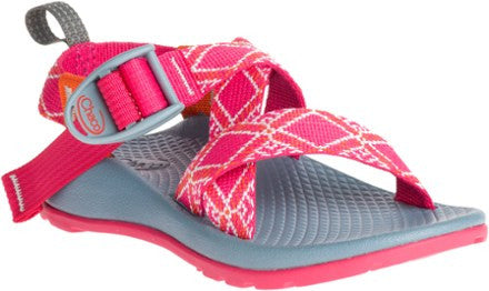 Chaco Z1 Ecotread Sandal (Toddler/Little Kid/Big Kid)-Boho Rasberry - Bennett's Clothing - 1