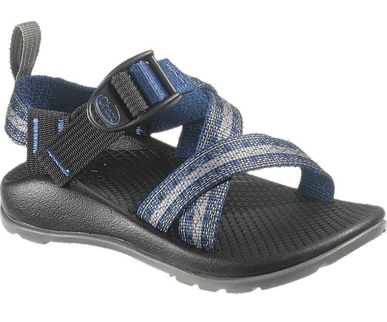 Chaco Z1 Ecotread Sandal (Toddler/Little Kid/Big Kid)-Stakes Blue - Bennett's Clothing