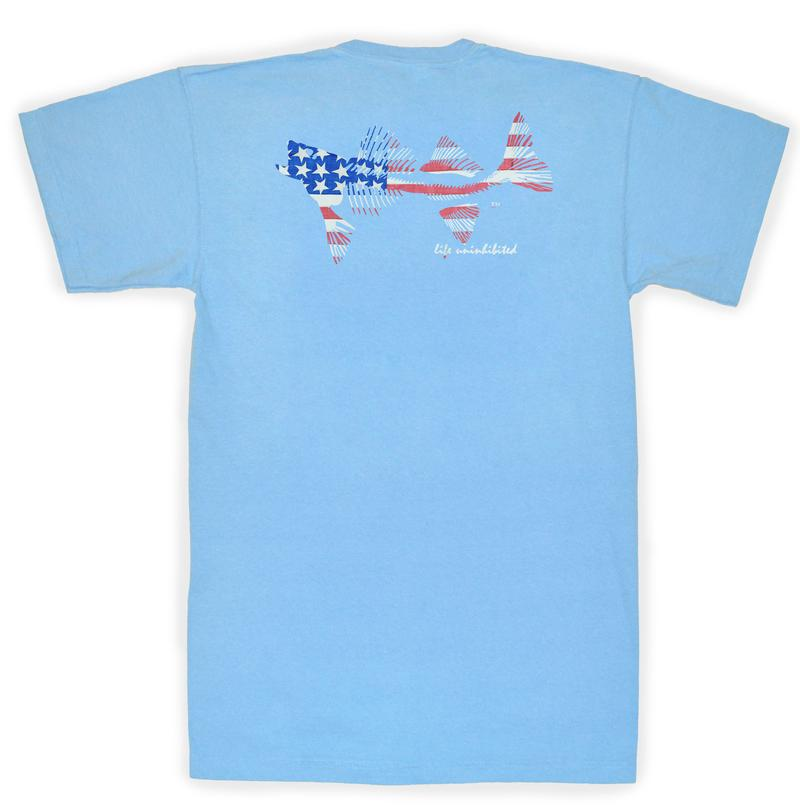 Coastal Cotton Original Flag t-shirt displays your pride and style. Shop Bennetts Clothing for the best in southern, preppy, name brand menswear