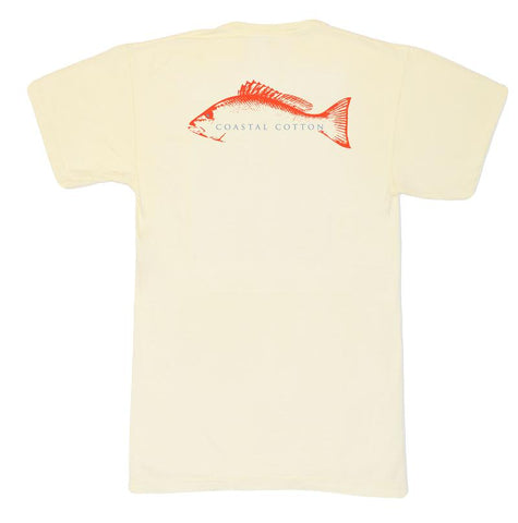 Coastal Cotton Snapper t-shirts are customer faves for being so soft and stylish. Shop Bennetts Clothing for the best in southern, preppy, name brand menswear