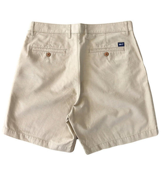 Coastal Cotton Mens Island Shorts-Sand