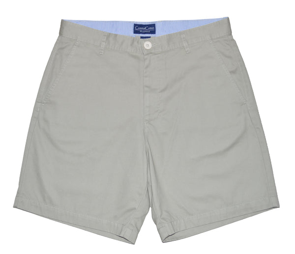 Coastal Cotton Mens Island Shorts-Khaki - Bennett's Clothing - 1