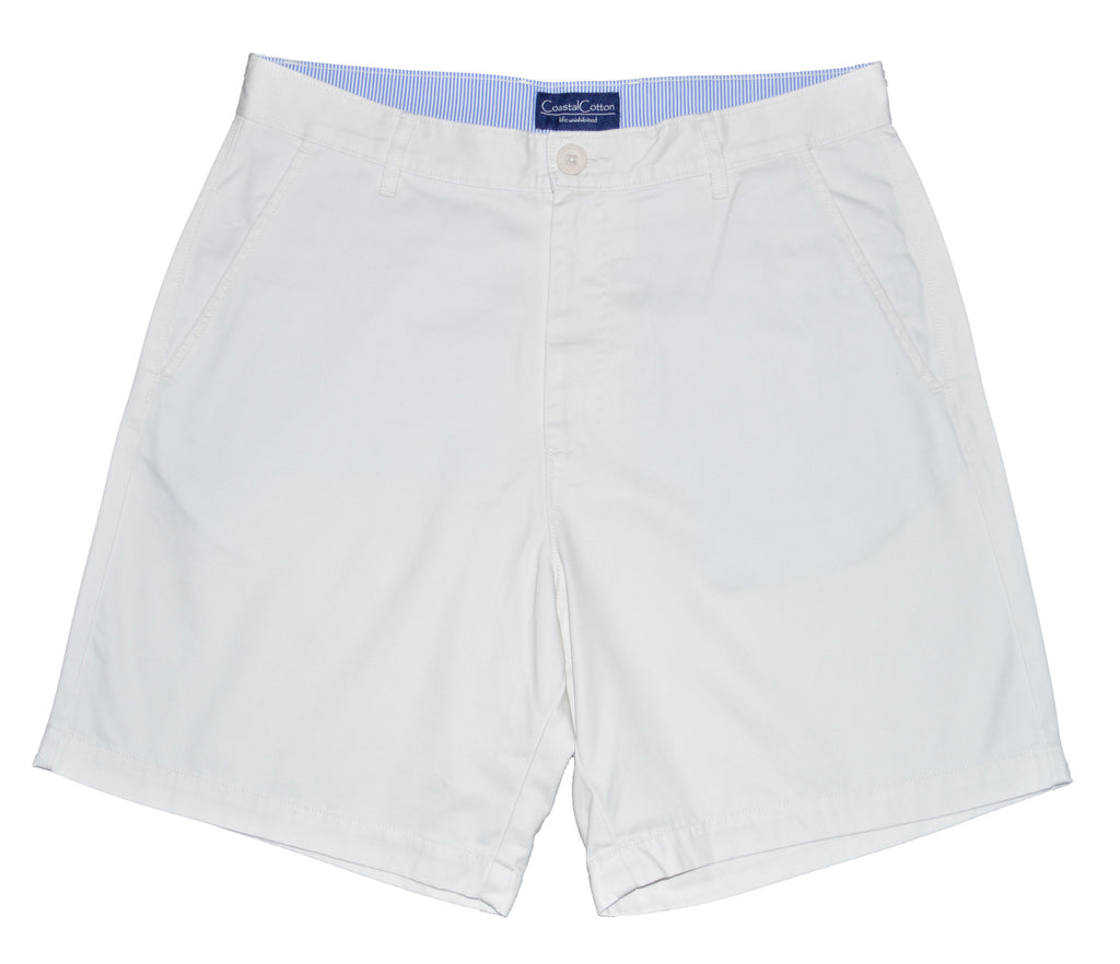 Coastal Cotton Mens Island Shorts-Stone - Bennett's Clothing - 1