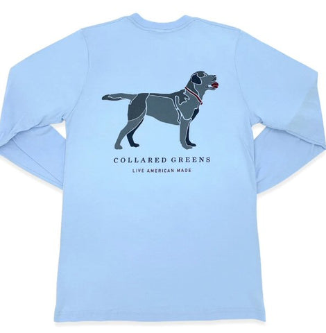Collared Greens Good Boy Black Lab t-shirt is made in the USA from Organic cotton and feels amazing. Shop Bennett's for the brands you want with the prices and service you will love, shipped same day to your front door.