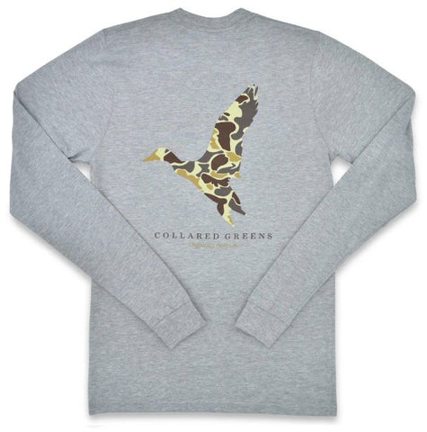 Collared Greens Camo Mallard t-shirt is made in the USA from Organic cotton and feels amazing. Shop Bennett's for the brands you want with the prices and service you will love, shipped same day to your front door.