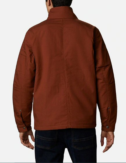Columbia Loma Vista Men's Jacket-Dark Amber