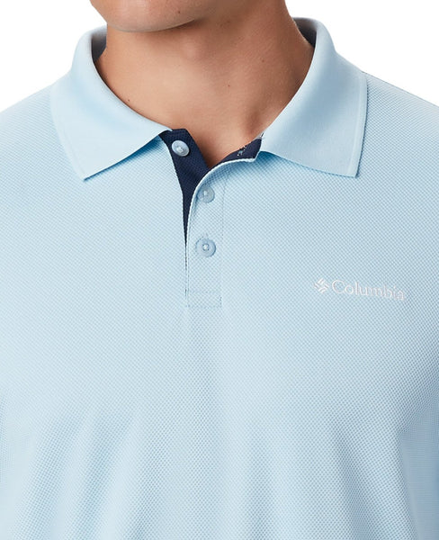 Columbia Men's Utilizer Polo Shirt-Sky Blue