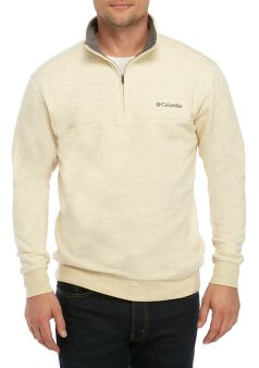 Columbia Great Hart Mountain III 1/2 Zip Pullover looks sharp and will keep the chills at bay. Shop Bennetts Clothing for Columbia to fit the entire family