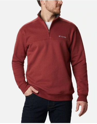 Columbia Hart Mountain II 1/2 Zip Pullover looks sharp and will keep the chills at bay this season. Shop Bennetts Clothing for Columbia to fit the entire family shipped same day to your front door.