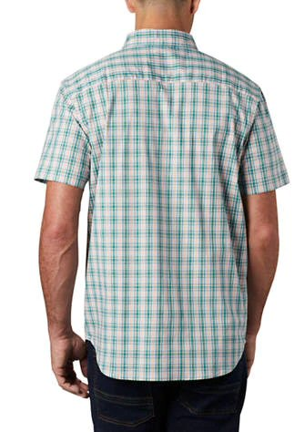 Columbia Rapid Rivers II Short Sleeve Shirt-Clear Water