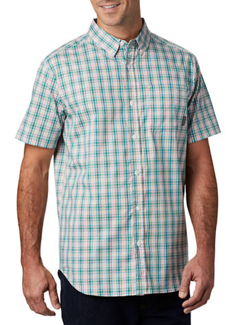 Columbia Rapid Rivers plaid shirt for men looks as good at the office or on the trail. Shop Bennetts Clothing for Columbia to fit the entire family