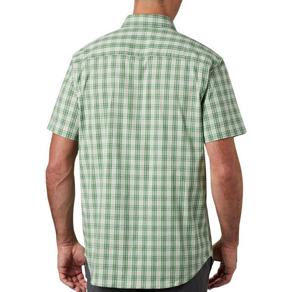 Columbia Rapid Rivers II Short Sleeve Shirt-Green Boa