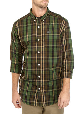 Columbia Rapid Rivers plaid shirt for men looks great along or layered under your favorite fleece. Shop Bennetts Clothing for Columbia to fit the entire family