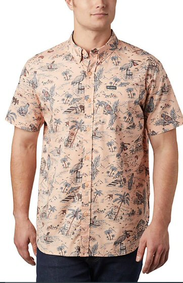 Columbia Rapid Rivers printed shirt for men looks as good at the office or on the trail. Shop Bennetts Clothing for Columbia to fit the entire family