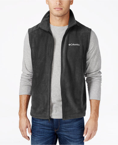 Columbia Sportswear Men's Steens Mountain Vest-Charcoal - Bennett's Clothing - 1