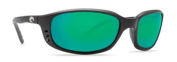 Costa Del Mar Brine sunglasses-Black w/ Green Mirror 580P