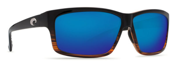 Costa Del Mar Cut Sunglasses-Coconut Fade w/ 580P Blue Mirror Lens