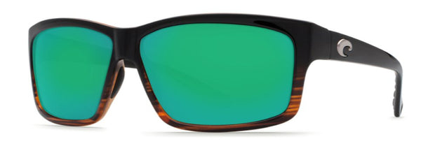 Costa Del Mar Cut sunglasses with 580G Green Mirror Lens will have you looking your best this season. Shop Bennetts Clothing for a large selection of Costa glasses and gear.