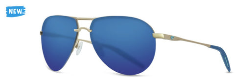 Costa HELO Sunglasses are new but the aviator styling has the hot look you want. Shop Bennetts Clothing for a large selection of Costa glasses and gear.