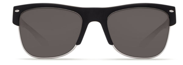 Costa Del Mar Pawleys Sunglasses-Matt Black w/ 580P Grey Lens
