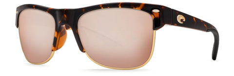 a6f3899009a8 Costa Del Mar Pawleys Sunglasses with Retro Tortoise 580P Silver Mirror  Lens will have you looking