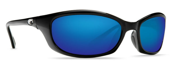 Costa Del Mar Harpoon Sunglasses-Black 580P Blue Mirror