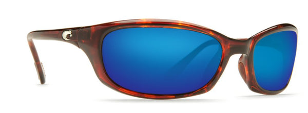 Costa Del Mar Harpoon Sunglasses-Tortoise 580P Blue Mirror