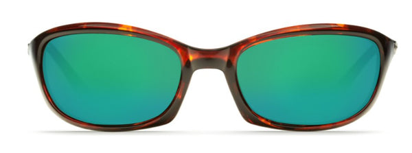 Costa Del Mar Harpoon Sunglasses-Tortoise 580P Green Mirror