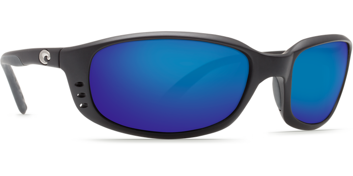 Costa Del Mar Brine sunglasses-Black w/ Blue Mirror 580P