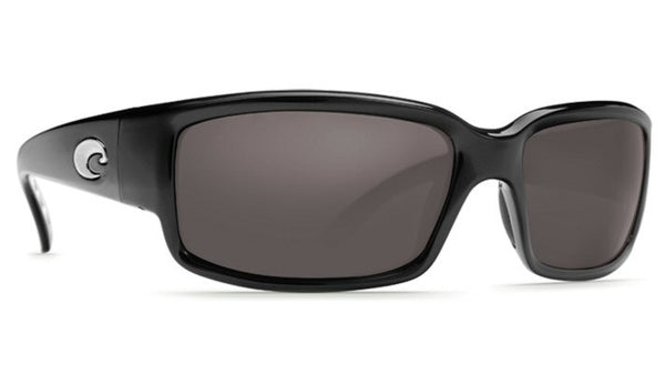 Costa Del Mar Caballito Sunglasses- Black w/ 580P Grey Lens - Bennett's Clothing - 4