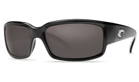 Costa Del Mar Caballito Sunglasses- Black w/ 580P Grey Lens - Bennett's Clothing - 1