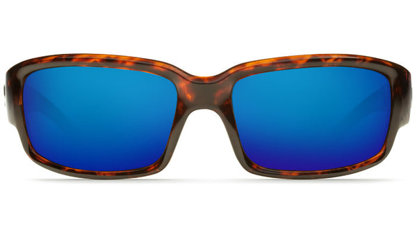 Costa Del Mar Caballito Sunglasses- Tortoise w/Blue Mirror 400G Lens - Bennett's Clothing - 3