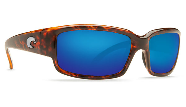 Costa Del Mar Caballito Sunglasses- Tortoise w/Blue Mirror 400G Lens - Bennett's Clothing - 4