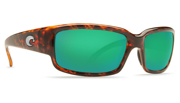 Costa Del Mar Caballito Sunglasses- Tortoise w/Green Mirror 580P Lens - Bennett's Clothing - 4