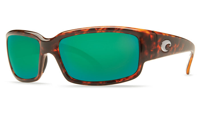 Costa Del Mar Caballito Sunglasses- Tortoise w/Green Mirror 580P Lens - Bennett's Clothing - 1