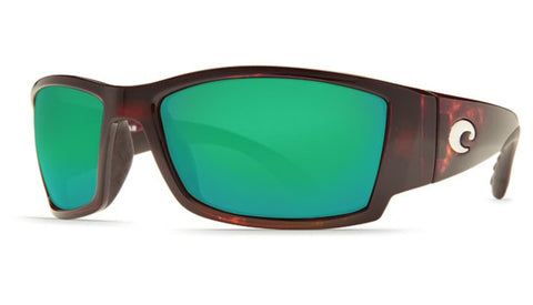 Costa Del Mar Corbina Sunglasses-Tortoise/Green Mirror 580P
