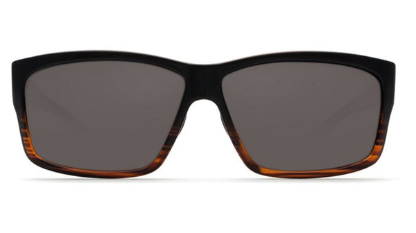 Costa Del Mar Cut Sunglasses-Coconut Fade w/ 580P Grey Lens - Bennett's Clothing - 3