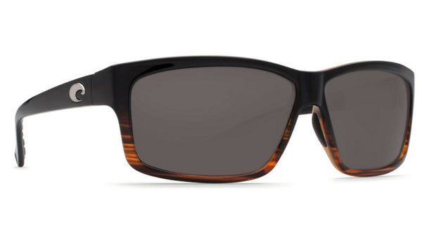 Costa Del Mar Cut Sunglasses-Coconut Fade w/ 580P Grey Lens - Bennett's Clothing - 4