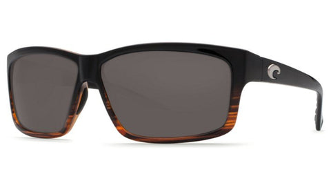 Costa Del Mar Cut Sunglasses-Coconut Fade w/ 580P Grey Lens - Bennett's Clothing - 1