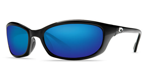 Costa Del Mar Harpoon Sunglasses-Black w/ 580G Blue Mirror Lens - Bennett's Clothing - 1