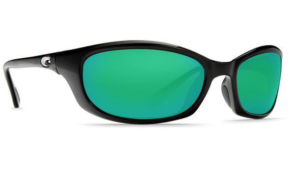 Costa Del Mar Harpoon Sunglasses-Black w/ 400G Green Mirror Lens - Bennett's Clothing - 4