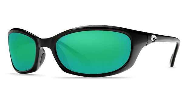Costa Del Mar Harpoon Sunglasses-Black w/ 400G Green Mirror Lens - Bennett's Clothing - 1